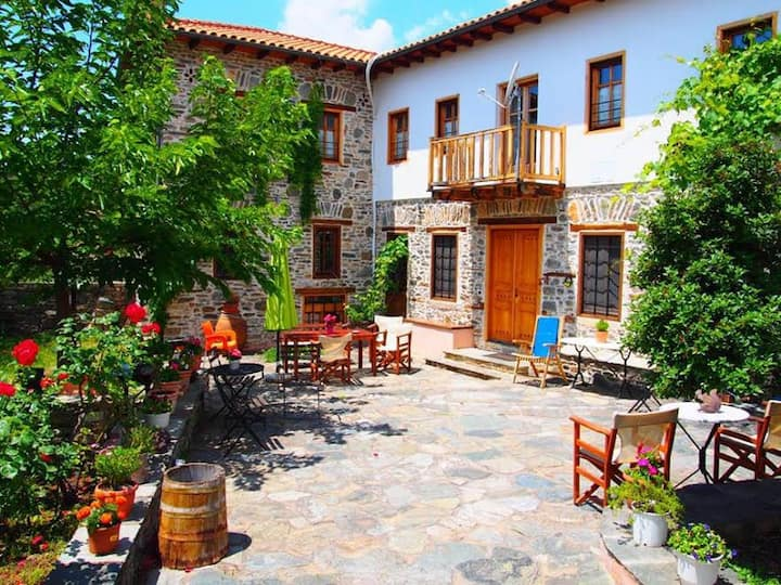 House/Mansion Hatzimichali, Metaxochori, Larisa