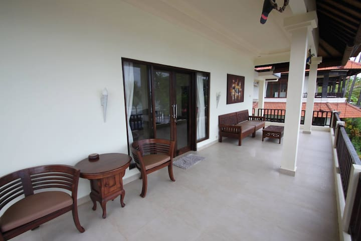 Upper floor Room veranda