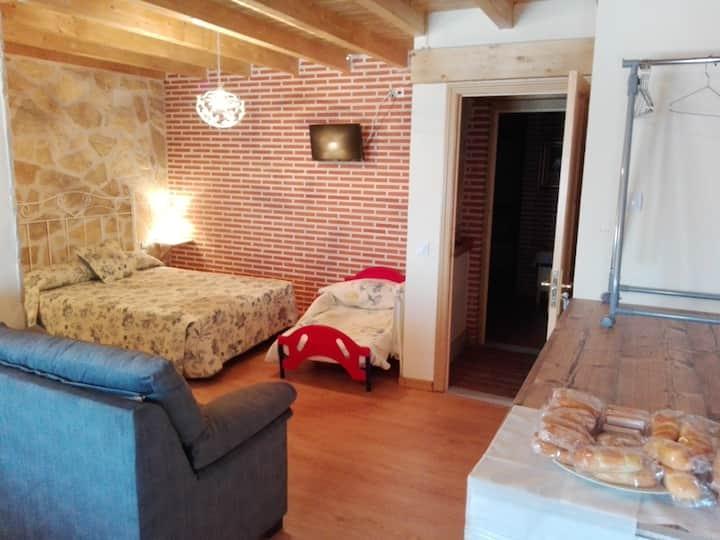 Apartamento rural para 3 personas cerca de Ávila