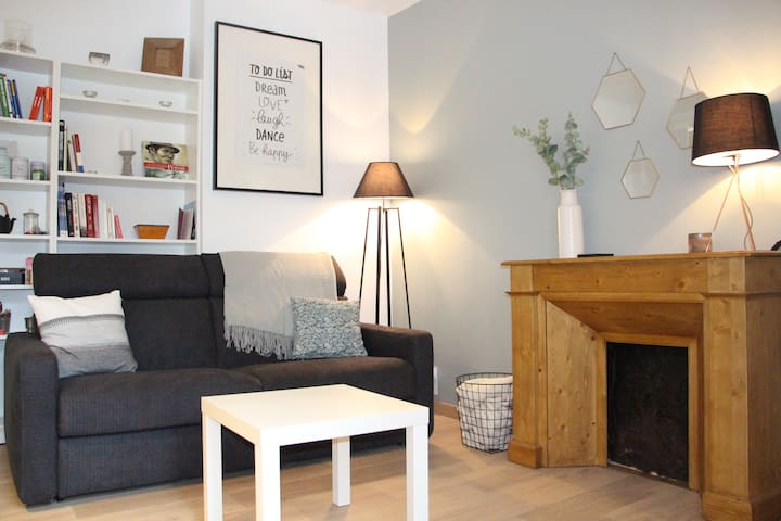 Centre ville/INSEAD appartement cosy au calme