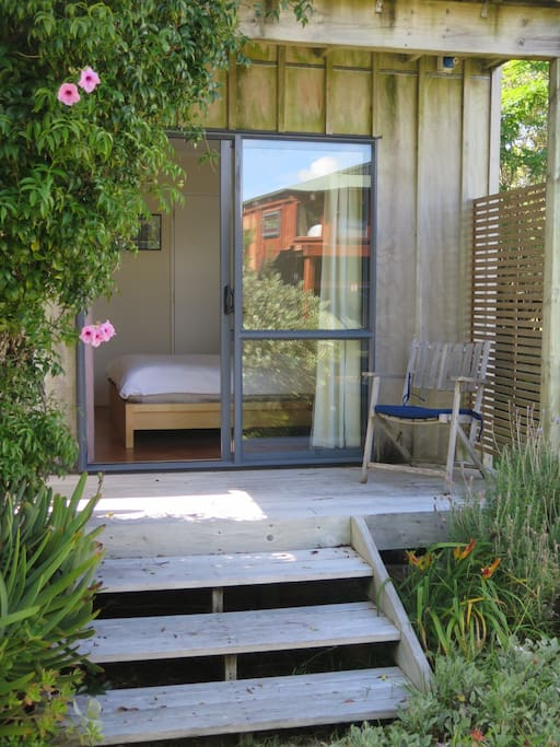 Double room from garden