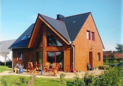 Charmante maison en bois - Quettehou - 独立屋
