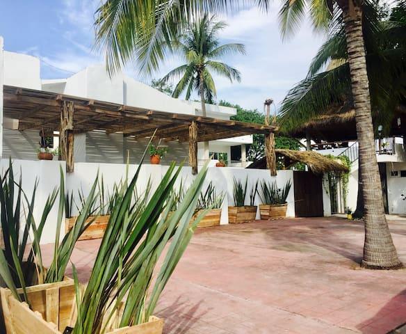 Hotel Boutique Dos Almas- Búho - Barra de Navidad - アパート