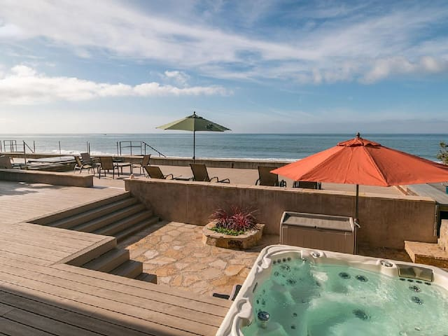 Faria Beachfront House, 20 mins South of SB! - Ventura