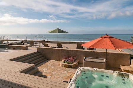 Faria Beachfront House, 20 mins South of SB! - Ventura - Hus