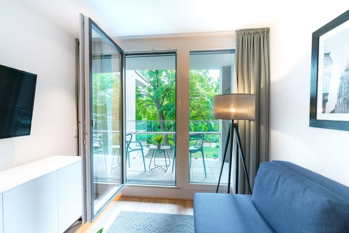 Vienna Residence | Premium business apartment with air conditioning and private terrace #6365