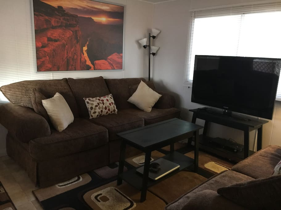 """Front Room with 42"""" TV"""