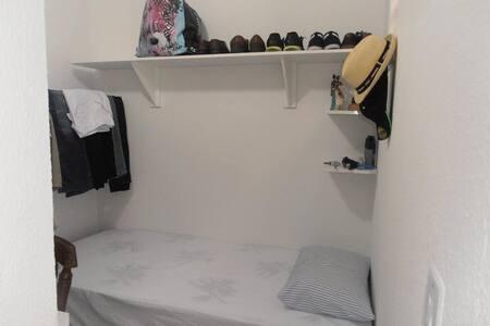 quarto solteiro, tranquilo, area residencial - Fortaleza - Wohnung