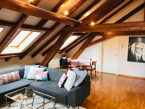 Luxury Loft 1 Br Apartment- Geneve/Thonex