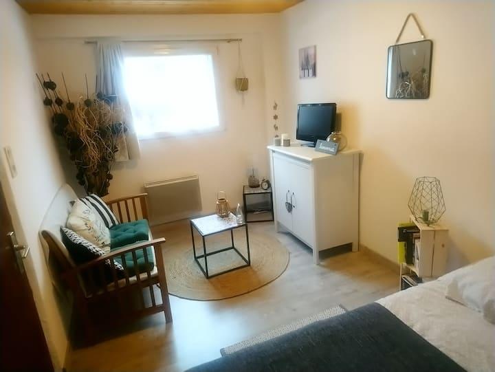 Chambre privée: Proche station de ski et Lac Leman