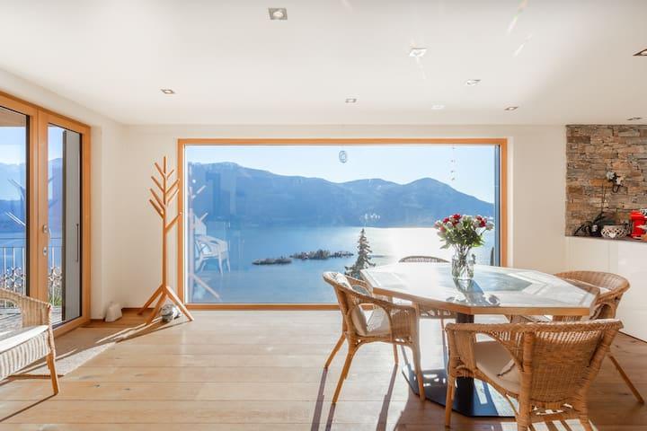 Einzigartiger Lago-Maggiore-Blick, 360°-Terrasse