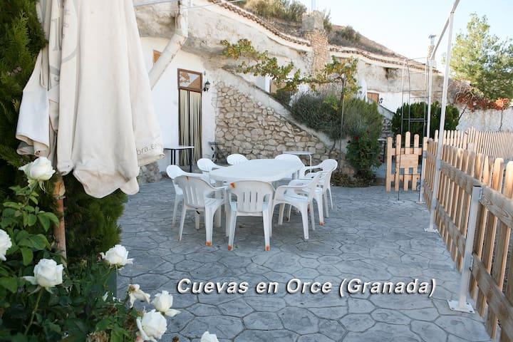Alojamiento Casa Cueva 6 Personas 96€ - Orce - Grot