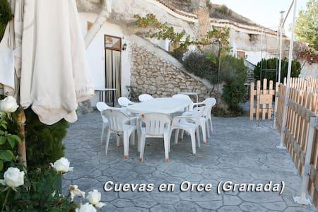 Alojamiento Casa Cueva 6 Personas 96€ - Orce - ถ้ำ