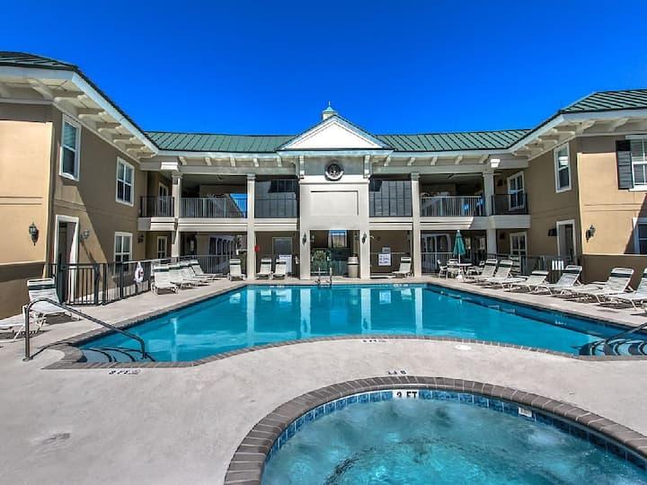 Enjoy Rooftop Pool plus SeaCrest Oceanfront Pool