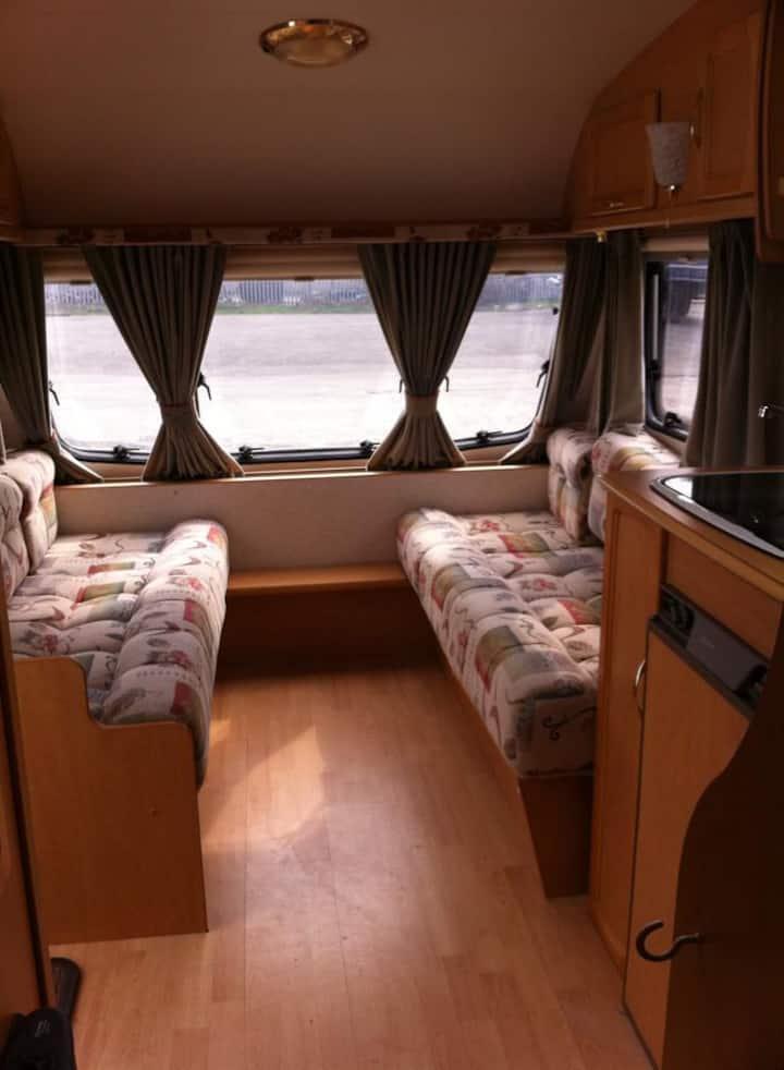 Northumberland Touring Caravan including breakfast