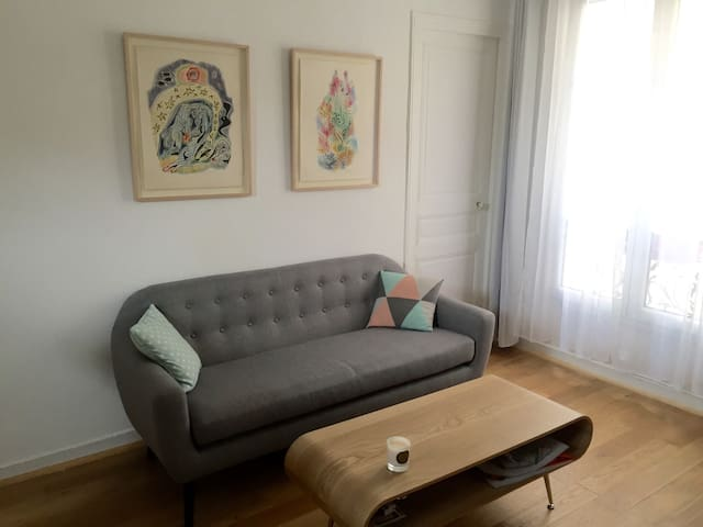Cozy appartment, cute neighborhood - Paris - Wohnung
