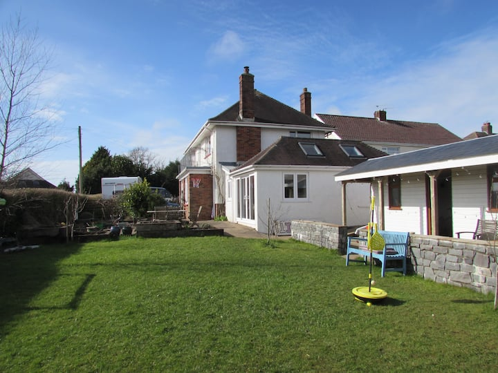 Spacious family home on Gower Peninsula