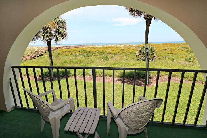 Direct Oceanfront Townhouse With Garage-Ponce Landing 13!!!