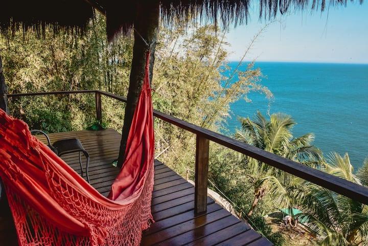 Suite Ocean/ar condicionado/WiFi/ofurô privativo