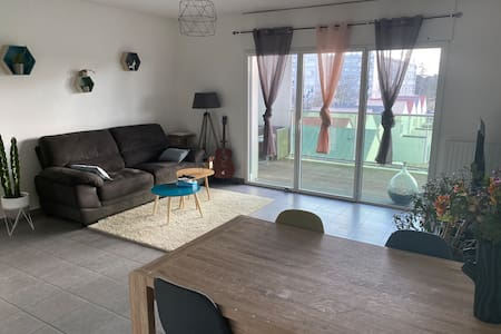 Chambre dans un charmant appartement