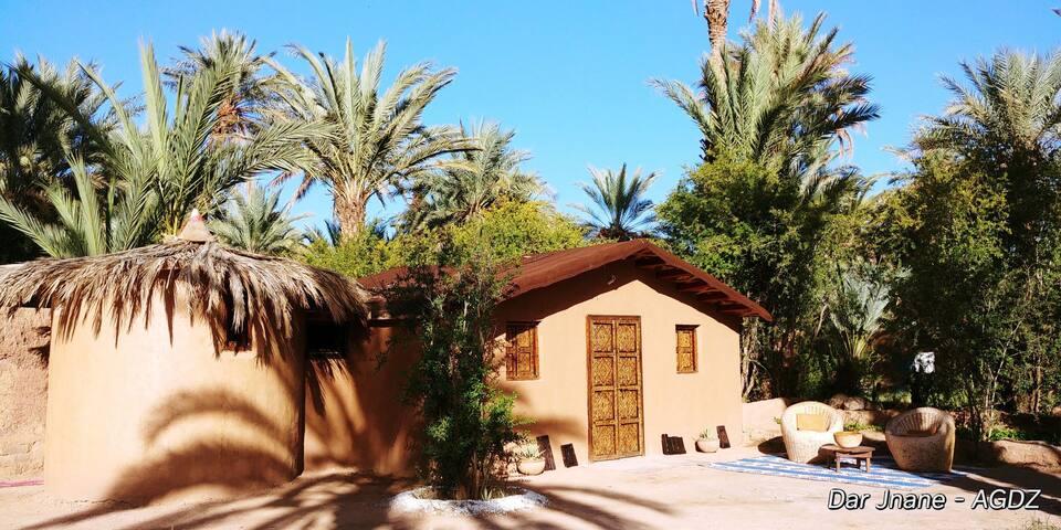 DAR JNANE Votre bungalow sous les palmiers