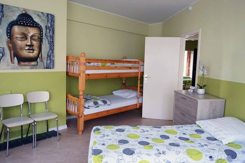 Chambre ouverte - Open bedroom