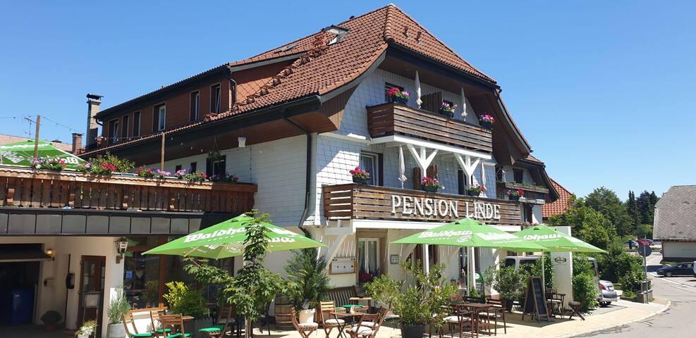 Pension Linde, (Höchenschwand), EZ Zimmer Nr.3