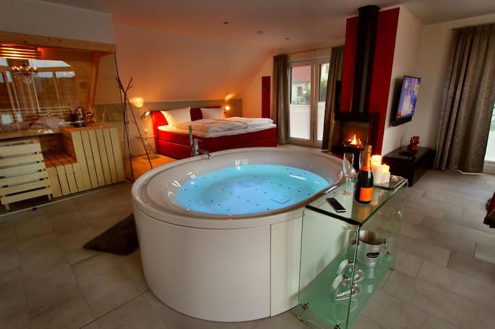 VILLA LIFESTYLE Luxus-HONEYMOON-SUITE - Göhren-Lebbin - Daire