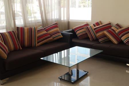 grand appart meublee  residence marina beach