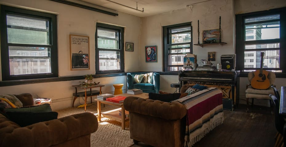 Residency at Bliss Factory's Brooklyn Artist Loft