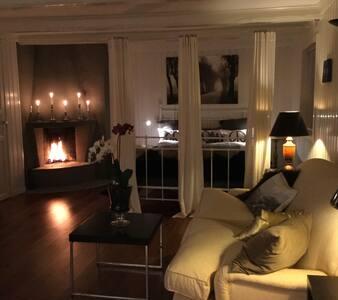 Exclusiv studio, with spa bath in Holmenkollen  - Oslo - Apartamento