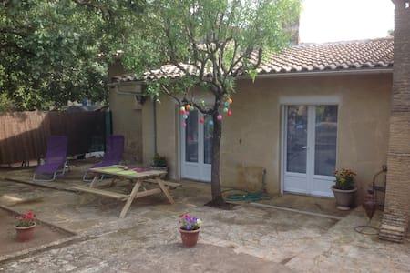 Tranquillité, calme et farniente - Vers-Pont-du-Gard - Ház