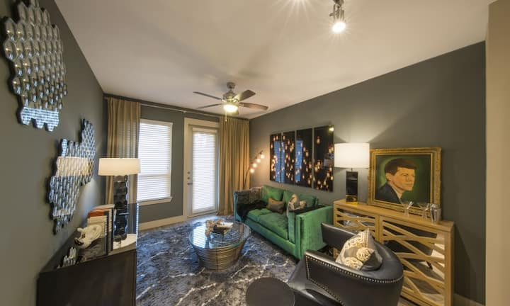 Live + Work + Stay + Easy | 1BR in Dallas