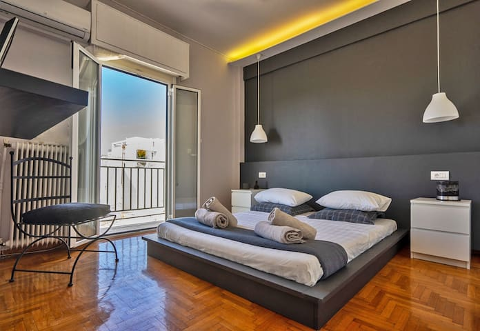 Acropolis view, unique cozy apartment