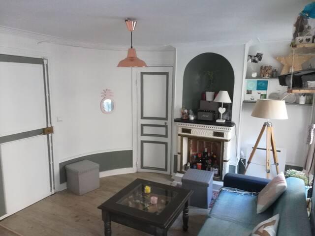 Appartement 35m2 au cœur de Montmartre
