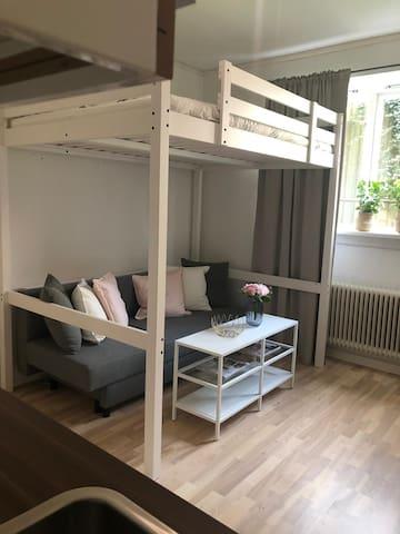 Mysig lägenhet mitt i centrala Kalmar!