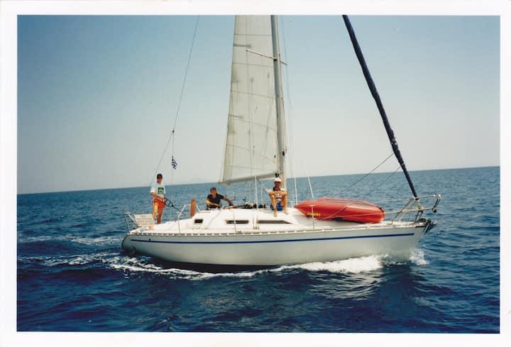 Thasos sailing
