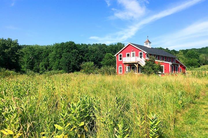 South Hayloft in New Paltz, lovely restored barn