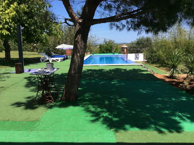 Algarve country villa + pool airconditioned for 10 - Alcantarilha - Villa
