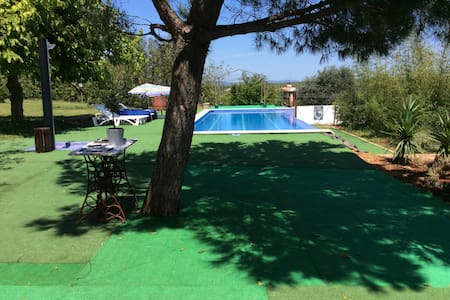 Algarve country villa + pool airconditioned for 10 - Alcantarilha - Casa de camp
