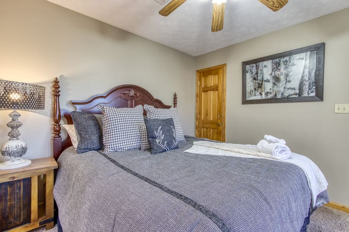 The other bedrooms have comfy king beds and modern amenities too.