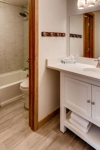 Newly Remodeled Upstairs Bathroom