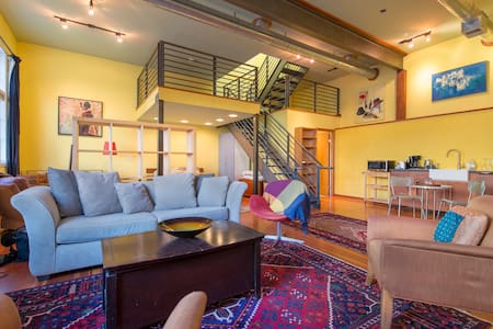 Large Modern Artistic Loft in Noe Valley - San Francisco - Loft