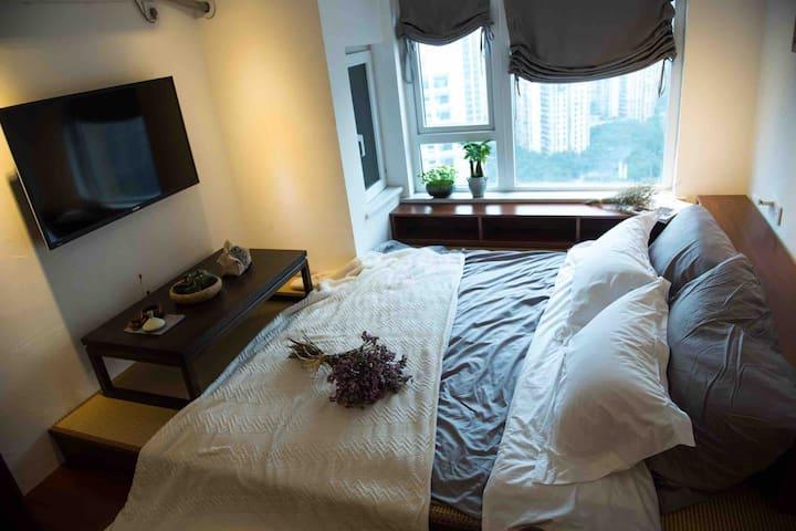 一楼榻榻米在需要时铺床