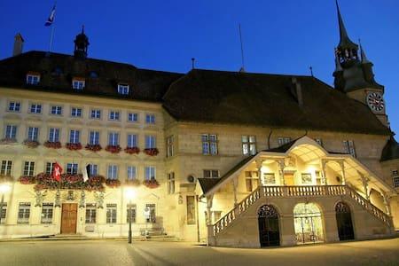 Chambre au coeur de Fribourg - ไฟร์บวร์ก