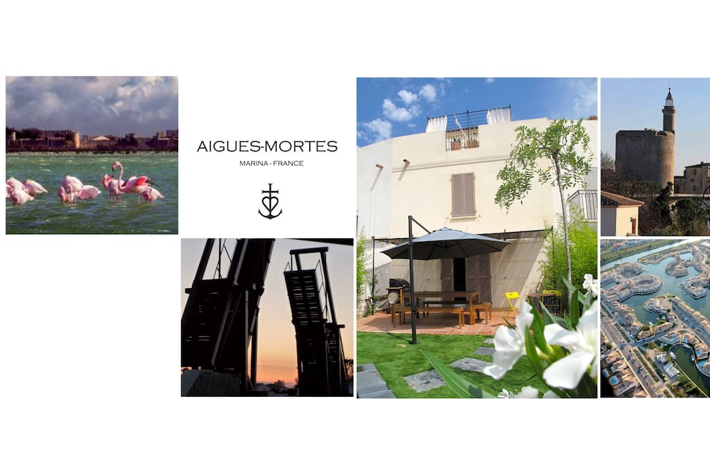 Marina Aigues-Mortes, Camargue, France.