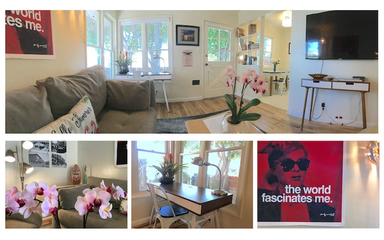 * 1BR House* Steps to Muscle Beach