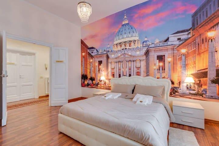 Room San Pietro - Napoleone - Rom - Bed & Breakfast