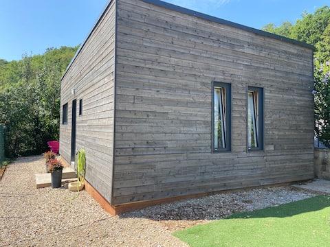 Wooden chalet cottage