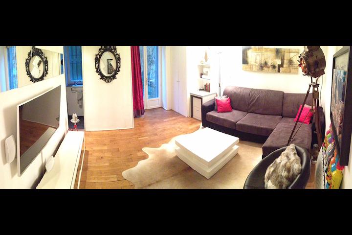 Cosy flat in Montmartre #quiet #deco #SacréCoeur